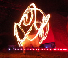 Fire spinning at Nexus 451